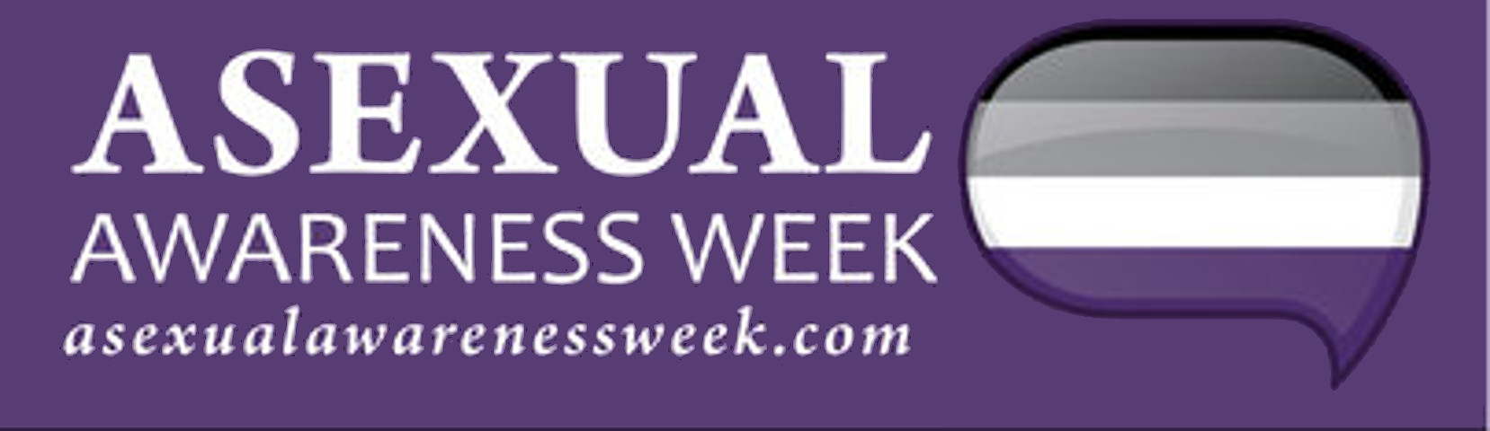 Asexual Awareness Week logo
